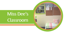 Miss Dee's Classroom Button - Preschool Program